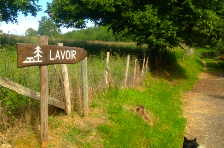 Trail Running Holidays in Dordogne, France - The old Lavoir